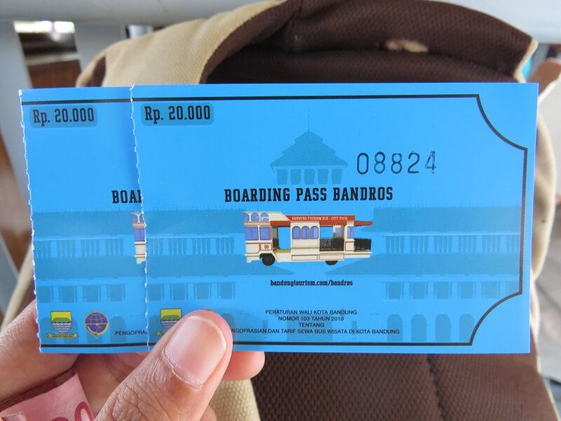 Tiket Naik Bandros