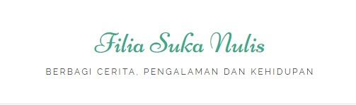 Logo Blog Filia Suka Nulis