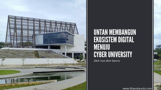 Untan Membangun Ekosistem Digital Menuju Cyber Digital
