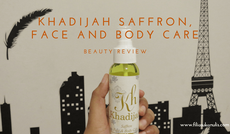 Khadijah Saffron, Face and Body Care