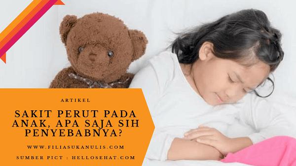 Sakit Perut Pada Anak