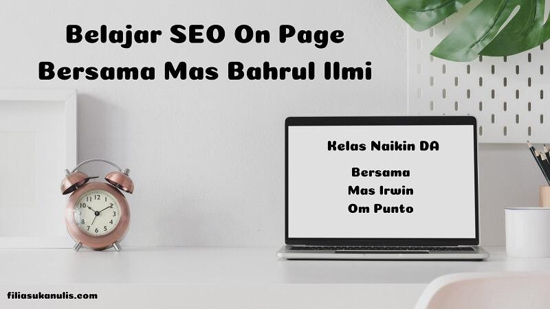 Banner Belajar SEO On Page