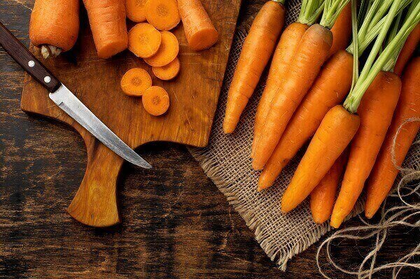 Wortel termasuk sayuran makanan berserat
