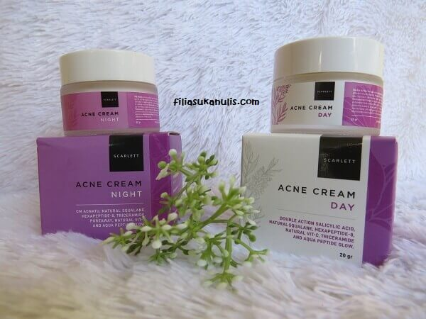 Face Care Scarlett Whitening Acne Cream