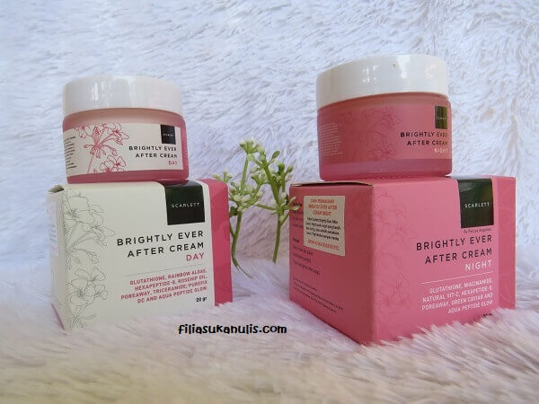 Face Care Scarlett Whitening Brightly Ever After Cream