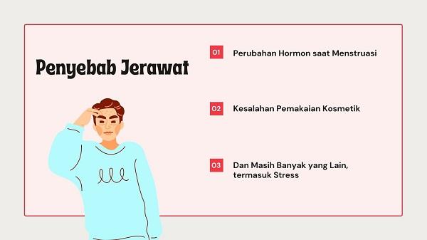 Penyebab Jerawat