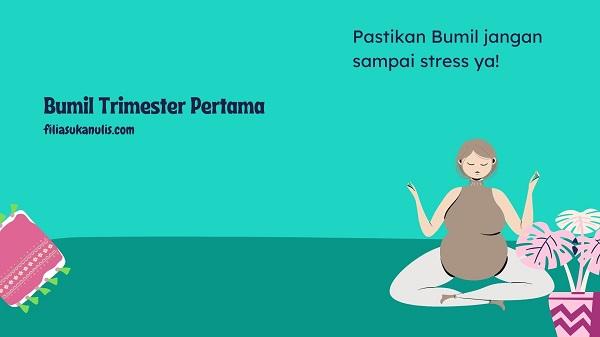 Bumil Nggak boleh stres