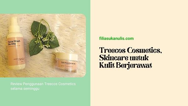 Treecos Cosmetics, Skincare untuk Kulit Berjerawat