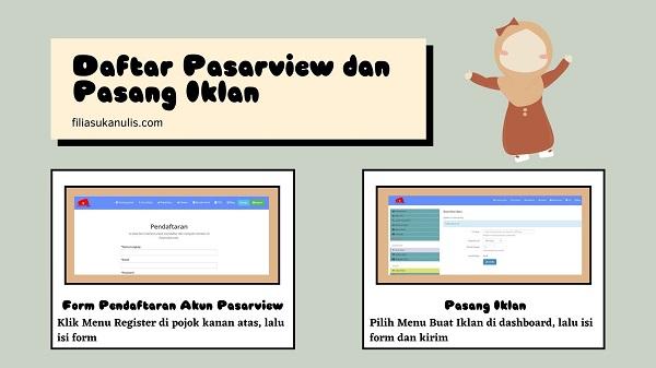 Daftar Pasarview dan Pasang Iklan
