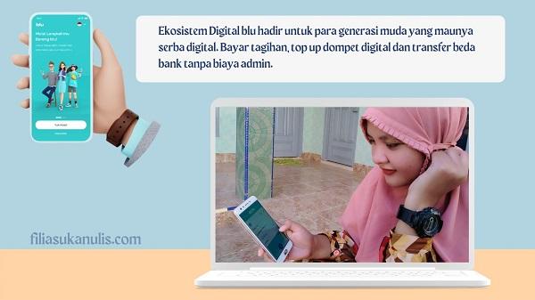 Ekosistem Digital blu untuk Generasi Muda
