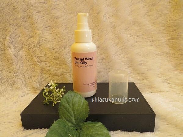 Facial Wash Bio Oily dari Treecos Cosmetics