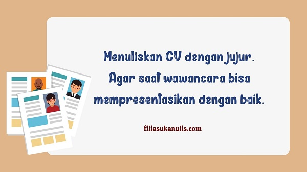 Tips Membuat CV yang Menarik